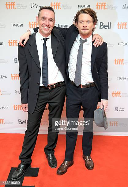 Producer Angus Lamont and actor Jack O'Connell attend the ''71' premiere during the 2014 Toronto International Film Festival at Princess of Wales...