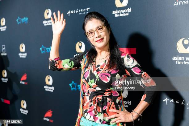 Producer Ankie Lau attends the Opening Night of the 5th Annual Asian World Film Festival on November 06 2019 in Culver City California