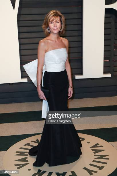 Producer Anna Scott attends the 2017 Vanity Fair Oscar Party hosted by Graydon Carter at the Wallis Annenberg Center for the Performing Arts on...