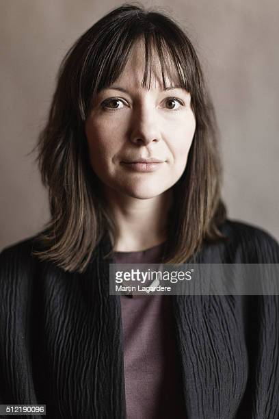 Producer Anna Vilgelmi is photographed for Self Assignment on February 18 2016 in Berlin Germany