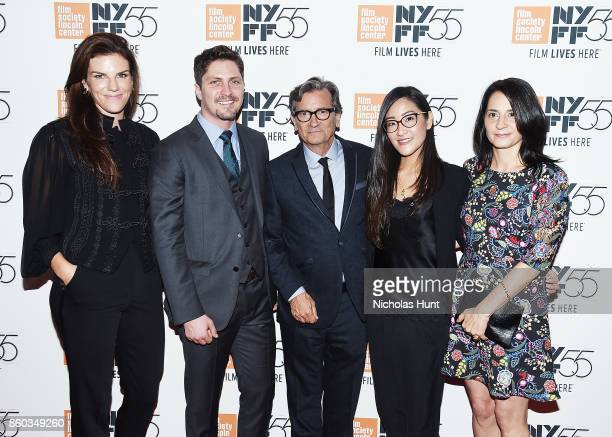 Producer Annabelle Dunne Ben Cotner Director Griffin Dunne Lisa Nishimura and Producer Mary Recine attend the 55th New York Film Festival...