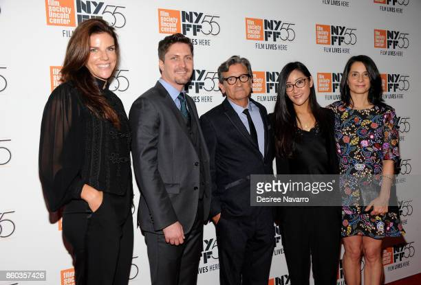 Producer Annabelle Dunne Ben Cotner Director Griffin Dunne Lisa Nishimura and Producer Mary Recine attend the 55th New York Film Festival 'Joan...
