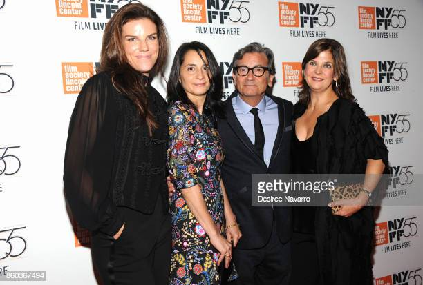 Producer Annabelle Dunne Producer Mary Recine Director Griffin Dunne and Editor Ann Collins attend the 55th New York Film Festival 'Joan Didion The...