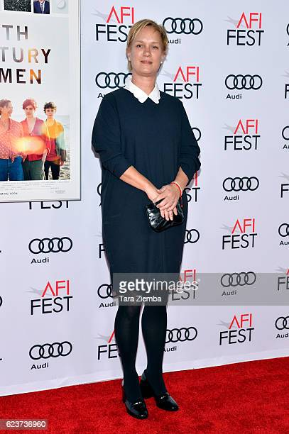Producer Anne Carey attends a tribute to Annette Bening and gala screening of A24's 20th Century Women at AFI Fest 2016 presented by Audi at The...