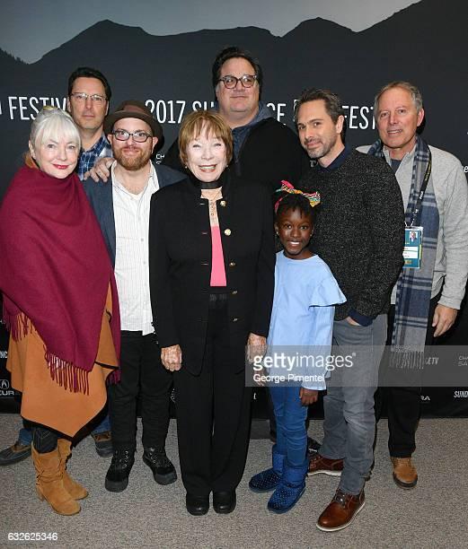 Producer AnneMarie Mackay guest Screenwriter Stuart Ross Fink actress Shirley MacLaine director/producer Mark Pellington actors Ann'Jewel Lee Dixon...