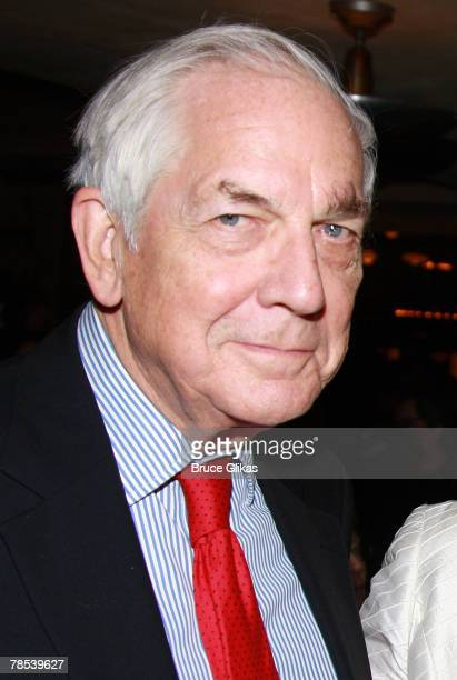 Producer Anthony Marshall son of Brooke Astor arrives at the opening night party for 'The Homecoming' at Bond 45 on December 16 2007 in New York City