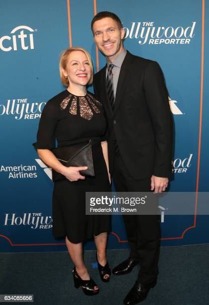 Producer Arianne Sutner and director Travis Knight attend The Hollywood Reporter 5th Annual Nominees Night at Spago on February 6 2017 in Beverly...