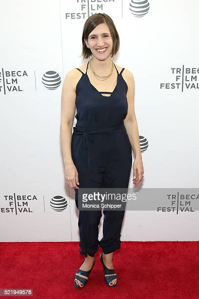 Producer Ariella J BenDov attends the The Return Premiere 2016 Tribeca Film Festival at Regal Battery Park Cinemas on April 17 2016 in New York City