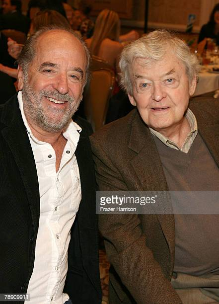 ACCESS*** Producer Art Linson and actor Hal Holbrook attend the 8th Annual AFI Awards cocktail reception held at the Four Seasons Hotel on January 11...
