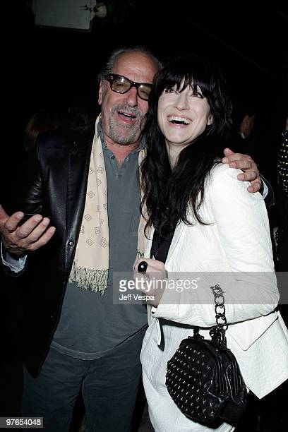 Producer Art Linson and director Floria Sigismondi attend the after party for the Los Angeles premiere of The Runaways presented by Apparition and...