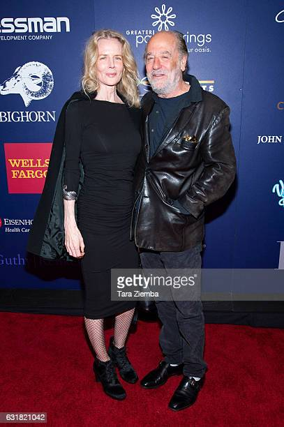 Producer Art Linson and his wife Fiona Lewis attend the Closing Night Screening of 'The Comedian' at the 28th Annual Palm Springs International Film...
