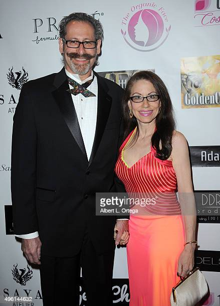 Producer Arthur Andelson of Kismet Entertainment and attorney Vicki Roberts attend 'Reel Haute' In Hollywood International Couture Fashion Show held...