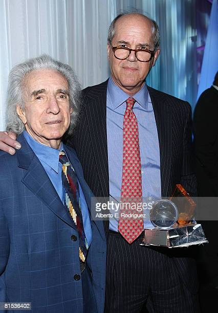 Producer Arthur Hiller and ICM chairman Jeffrey Berg attend the 23rd Annual Israel Film Festival Gala Awards Dinner held at the Beverly Hilton Hotel...