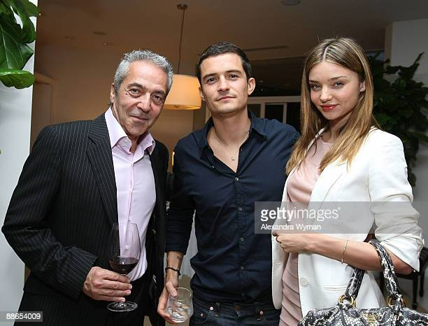 Producer Arthur Sarkissian Orlando Bloom and Miranda Kerr at Audi's celebration of the arrival of TDI clean diesel technology held on June 23 2009 in...