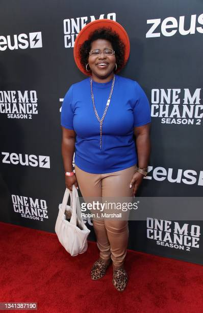 """Producer Ashley Washington attends Zeus Network's """"One Mo Chance"""" Season 2 Premiere at AMC Universal at City Walk on September 19, 2021 in Universal..."""