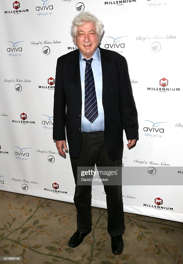 Producer Avi Lerner attends A Gala to honor Avi Lerner and Millennium Films at The Beverly Hills Hotel on April 16, 2016 in Beverly Hills, California.