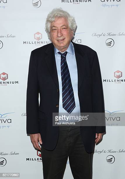 Producer Avi Lerner attends the gala to honor Avi Lerner and Millennium Films at The Beverly Hills Hotel on April 16 2016 in Beverly Hills California