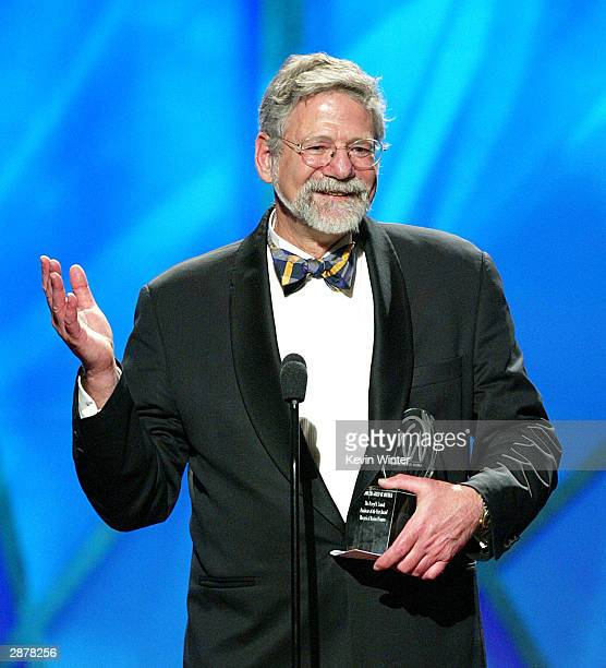Producer Barrie M Osborne accepts the Best Picture Award for Lord of the Rings The Return of the King at the 15th Annual Producers Guild Awards at...