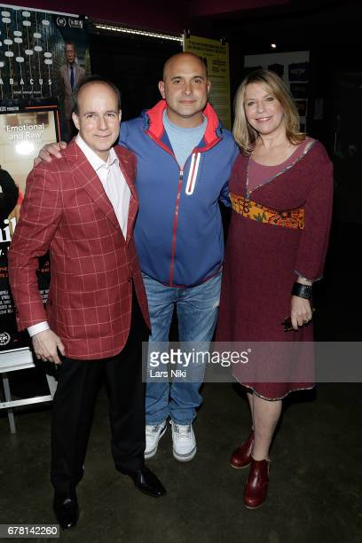 Producer Barry Greenstein Radio Personality Craig Carton and Director Jill Campbell attend the MR CHIBBS Opening Night screening at the IFC Center on...