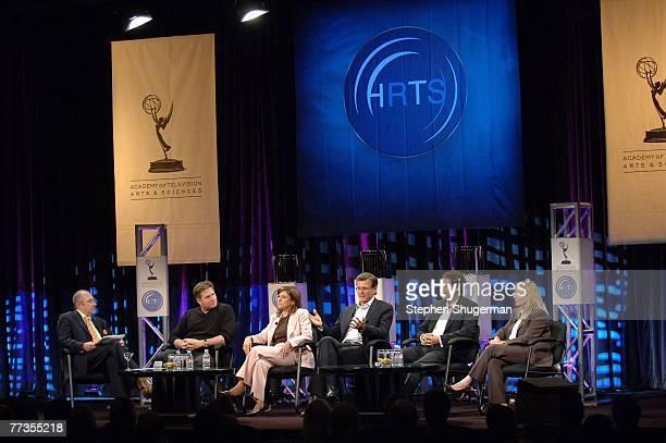Producer Barry Sonnenfeld, ABC Entertainment President Stephen McPherson, CBS Entertainment President Nina Tassler, Fox Broadcasting Company...