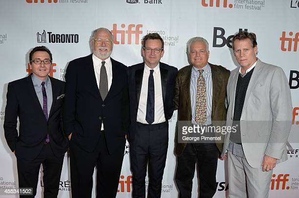 Producer Bart Rosenblatt Executive Producer Jonathan Dana Director Philip Martin Producers Eugene Musso and Al Corley attend 'The Forger' premiere...