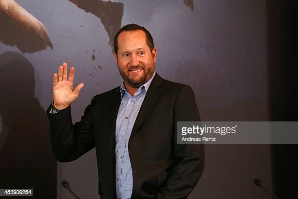 Producer Beau Flynn attends the press conference of Paramount Pictures 'HERCULES' at Hotel Adlon on August 21, 2014 in Berlin, Germany.
