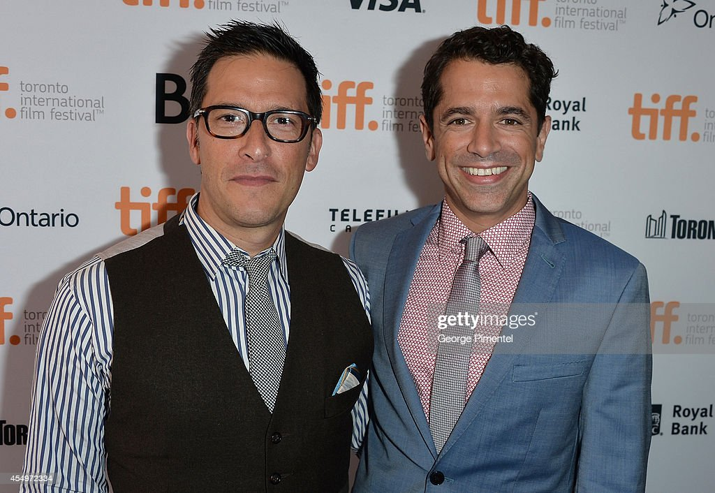 Producer Ben Barnz (L) and Director Daniel Barnz attend the 'Cake' premiere during the 2014 Toronto International Film Festival at The Elgin on September 8, 2014 in Toronto, Canada.