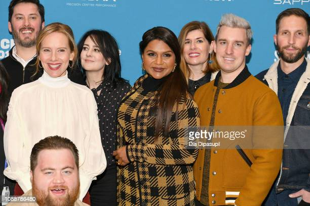 Producer Ben Browning, Amy Ryan, Composer Lesley Barber, Writer Mindy Kaling, Costume Designer Mitchell Travers, Blake DeLong and Paul Walter Hauser...