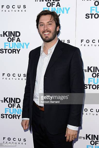 "Producer Ben Browning attends the ""It's Kind of a Funny Story"" premiere at Landmark's Sunshine Cinema on September 14, 2010 in New York City."