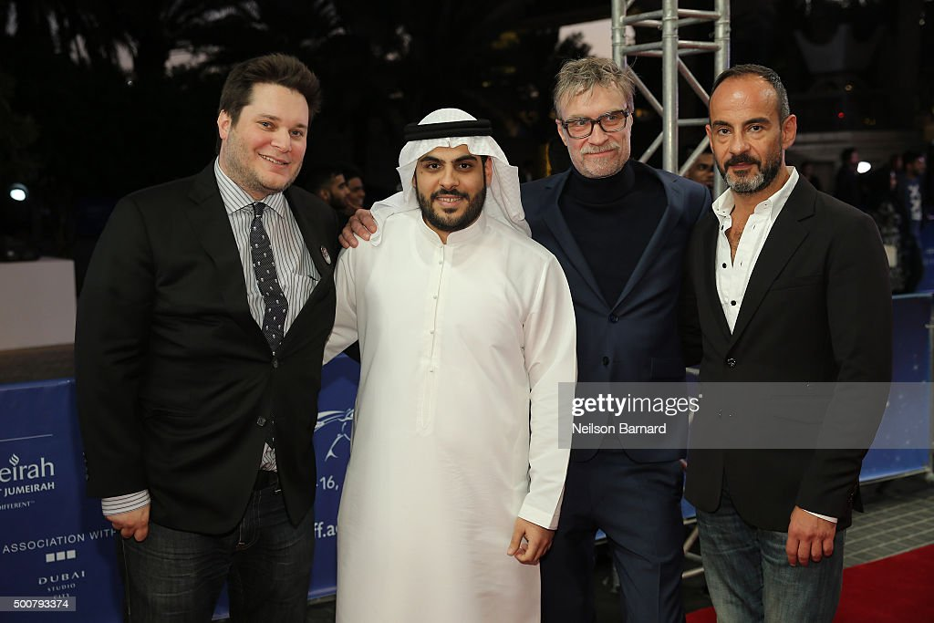 2015 Dubai International Film Festival - Day 2 : Nachrichtenfoto