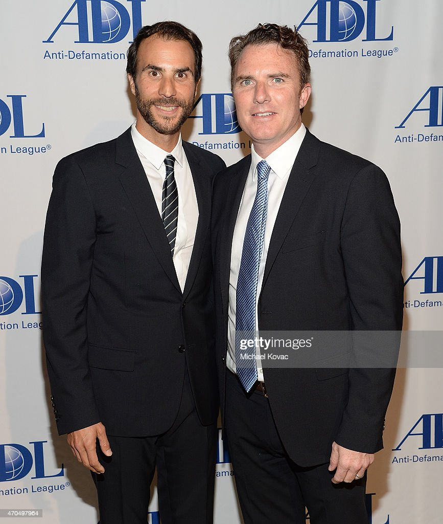 Producer Ben Silverman (L) and Electus COO Drew Buckley attend the Anti-Defamation League's 2015 Entertainment Industry Dinner at The Beverly Hilton Hotel on April 20, 2015 in Beverly Hills, California.