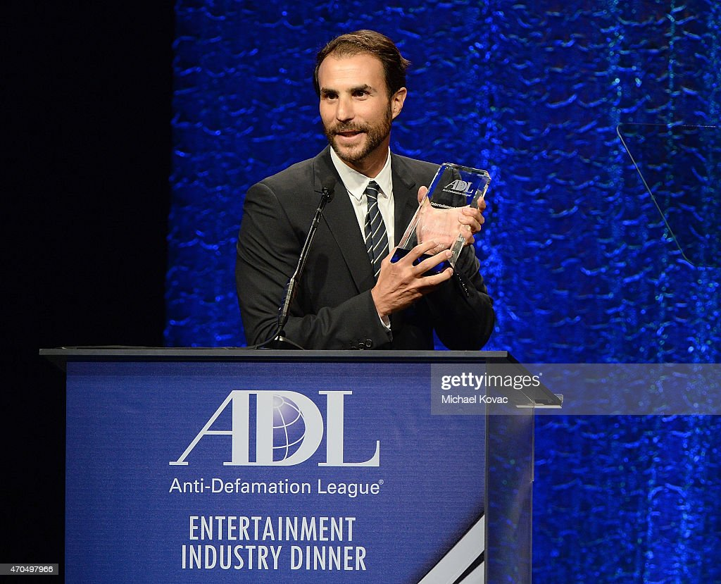 Producer Ben Silverman presents onstage at the Anti-Defamation League's 2015 Entertainment Industry Dinner at The Beverly Hilton Hotel on April 20, 2015 in Beverly Hills, California.