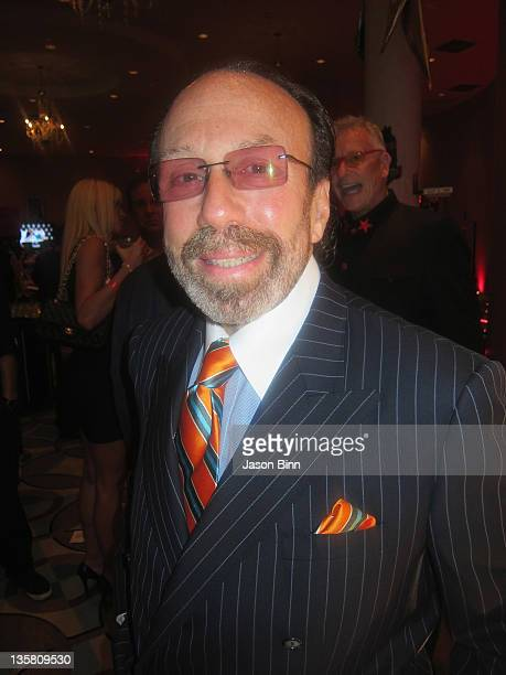 Producer Bernie Yuman poses during Miami Beach Best Buddies Annual Gala pose at the Fontainebleau on November 19 2011 in Miami Florida