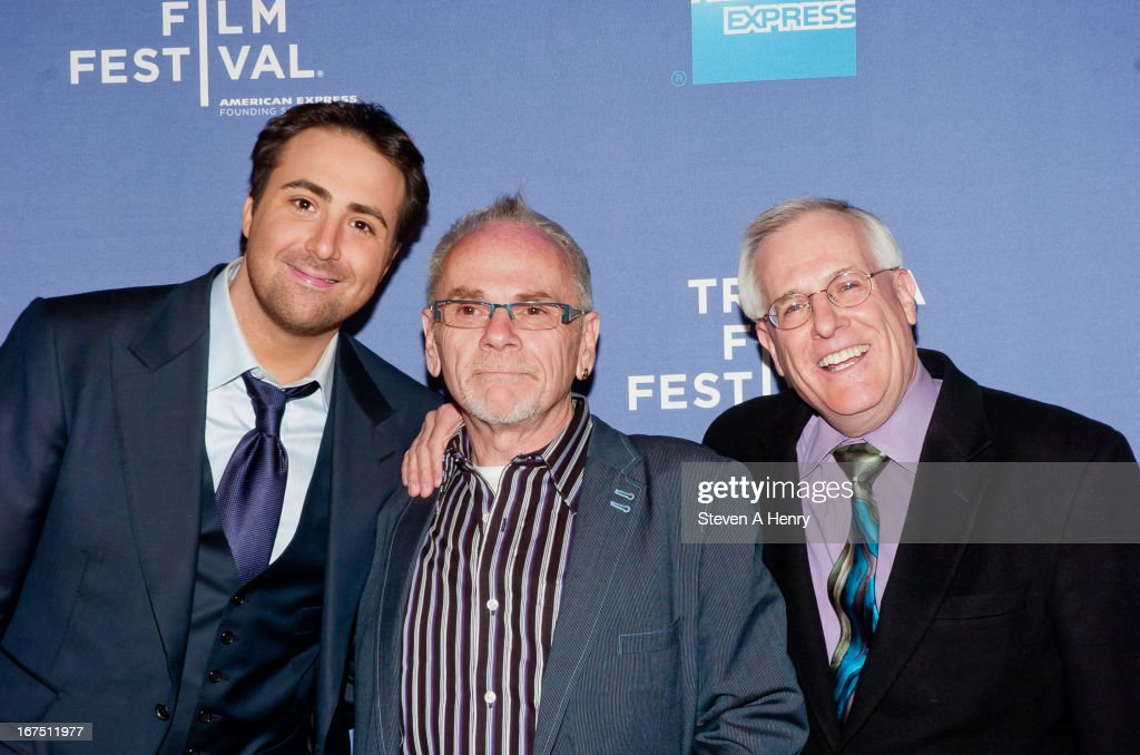 Producer Bert Marcus, Brian O'Dea and Eric E. Sterling attend Tribeca Talks: After the Movie 'How to Make Money Selling Drugs' during the 2013 Tribeca Film Festival at SVA Theater on April 25, 2013 in New York City.
