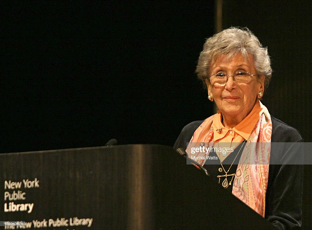 Producer Betty Corwin at The League Of Profesional Theatre Women Presents: Billie Allen And Phylicia Rashad at The New York Public Library for Performing Arts on September 22, 2014 in New York City.