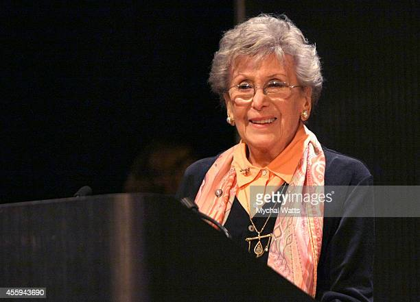 Producer Betty Corwin at The League Of Profesional Theatre Women Presents Billie Allen And Phylicia Rashad at The New York Public Library for...