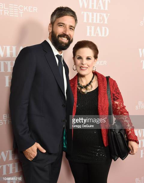 Producer Bill Holderman and Kat Kramer arrive at the Los Angeles Special Screening Of What They Had at iPic Westwood on October 9 2018 in Westwood...