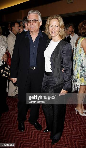 Producer Bill Kenwright and actress Jenny Seagrove attend the Evita press night at the Adelphi Theatre on June 21 2006 in London England Michael...