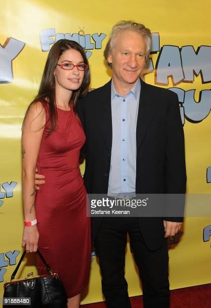 Producer Bill Maher and Cara Santa Maria attend Family Guy's PreEmmy Celebration at Avalon on September 18 2009 in Hollywood California