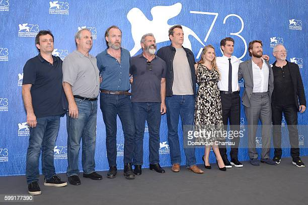 Producer Bill Mechanic actor Hugo Weaving director Mel Gibson actor Vince Vaughn actress Teresa Palmer actor Andrew Garfield actor Luke Bracey and...