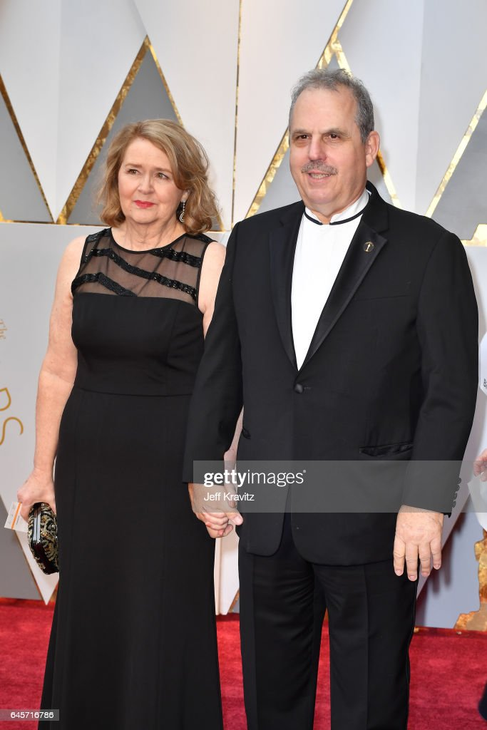 Producer Bill Mechanic (R) attends the 89th Annual Academy Awards at Hollywood & Highland Center on February 26, 2017 in Hollywood, California.