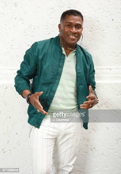Producer Bishop Eric Garnes poses for a portrait during the 22nd Annual American Black Film Festival at the Loews Miami Beach Hotel on June 15 2018...
