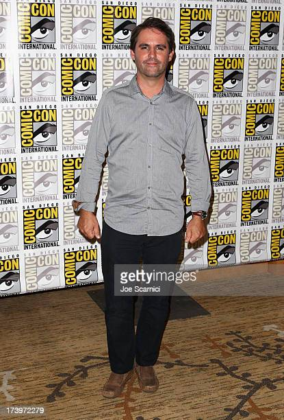Producer Bob Orci attends Ender's Game ComicCon Press Line at San Diego Convention Center on July 18 2013 in San Diego California