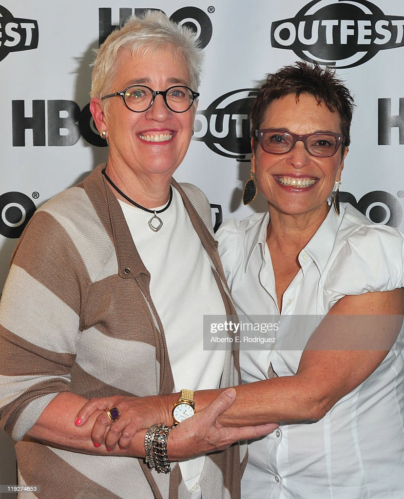 Producer Bobbie Birleff and producer Beverly Kopf arrive to the 2011 Outfest Special Screening of 'Wish Me Away' at Directors Guild Of America on July 15, 2011 in Los Angeles, California.