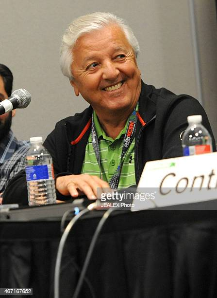 Producer Bobby Marin speaks at 'We Like It Like That Latin Boogaloo' during the 2015 SXSW Music Film Interactive Festival at Austin Convention Center...