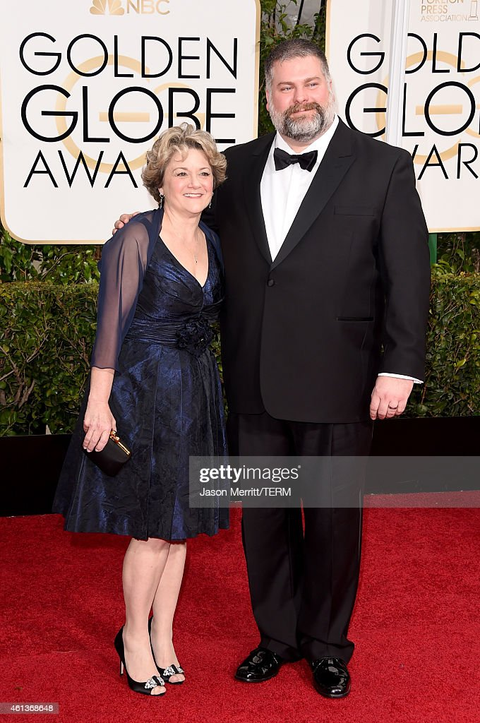Producer Bonnie Arnold and Writer/Director Dean DeBlois attend the 72nd Annual Golden Globe Awards at The Beverly Hilton Hotel on January 11, 2015 in Beverly Hills, California.