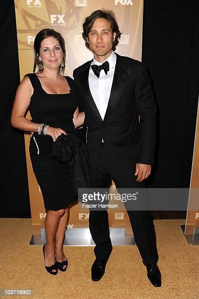 Producer Brad Falchuk arrives at the Fox Broadcasting Company Twentieth Century Fox Television and FX 2010 Emmy Nominee Party held at Cicada on...