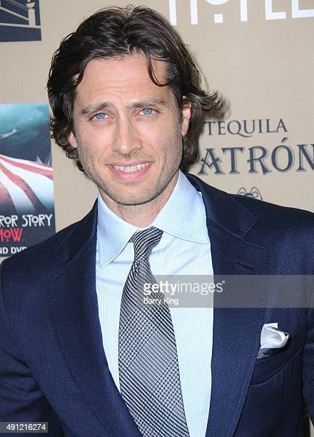 Producer Brad Falchuk arrives at the premiere screening Of FX's 'American Horror Story Hotel' at Regal Cinemas LA Live on October 3 2015 in Los...