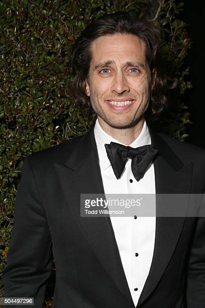 Producer Brad Falchuk attends FOX Golden Globe Awards Awards Party 2016 sponsored by American Airlines at The Beverly Hilton Hotel on January 10 2016...