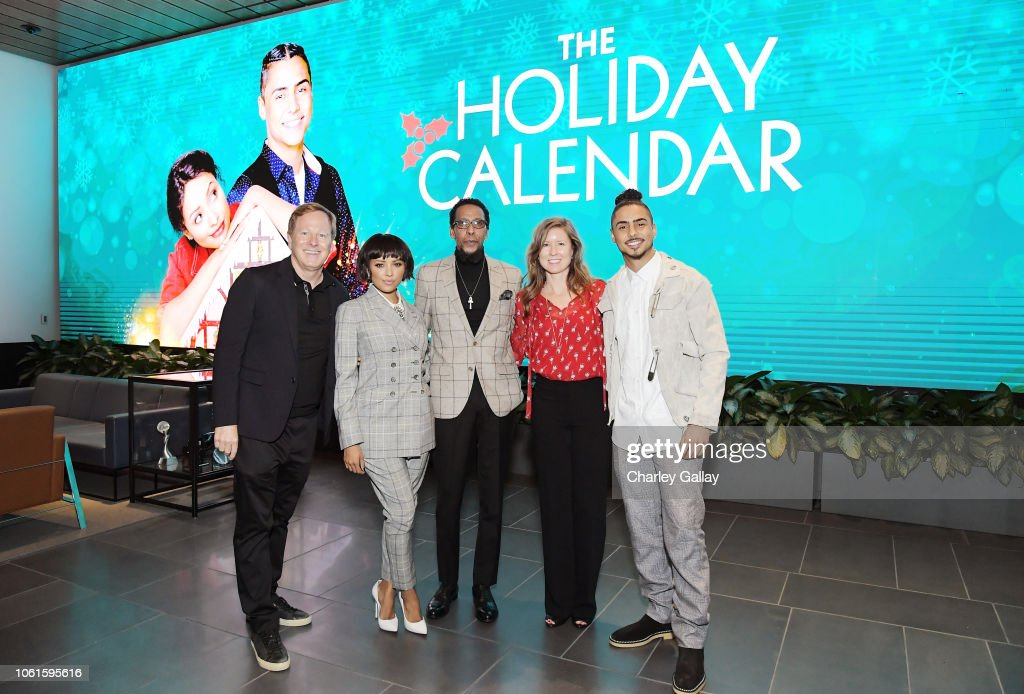 'The Holiday Calendar' Special Screening Los Angeles : News Photo